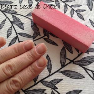 Paso 1, pulir  las uñas
