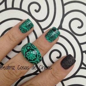 Leticia Well Verde y Placas Pueen