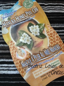 Mascarilla Facial de Montagne Jeunesse: Manuka Honey peel off: https://beatrizcosasdechicas.com/2014/11/07/mascarilla-facial-de-montagne-jeunesse-manuka-honey-peel-off/