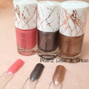 2. Swatches de Metallure