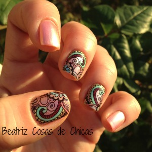 Roses Cosmetics, Infinity Nails....Reverse Stamping
