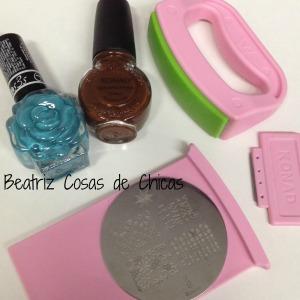 6. Ros3s Cosmetics y Konad