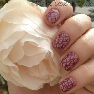 Hello Autumn Rosa e Infinity Nails. 1