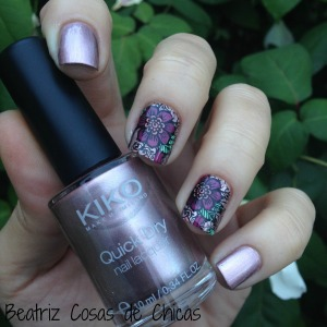 Kiko y Reverse Stamping con Infinity Nails.1