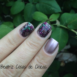 Kiko y Reverse Stamping con Infinity Nails