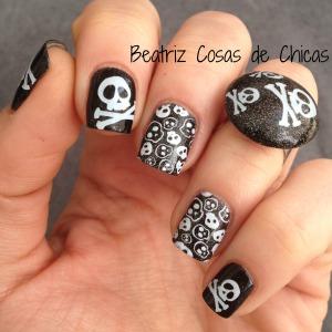 Uñas de Pirata con Catrice y Flormar.3