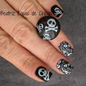Uñas de Pirata con Catrice y Flormar.4