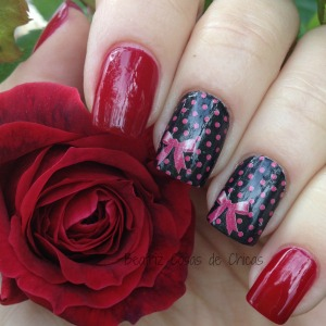 Flormar Red Velvet 385 y Water Decals.1
