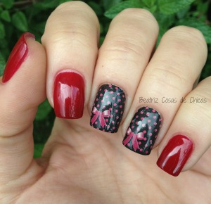 Flormar Red Velvet 385 y Water Decals.3