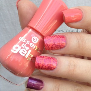 Essence Efecto Gel Coral y CICI&SISI.1