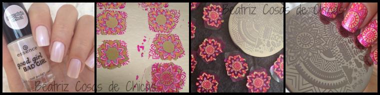 Reverse Stamping BornPrettyStore Collage