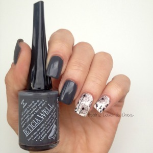 Gris de Leticia Well y Water Decals de BornPrettyStore.5