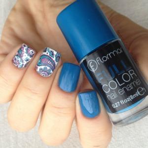 Flormar Fullcolor y Water decals de BornPrettyStore.1