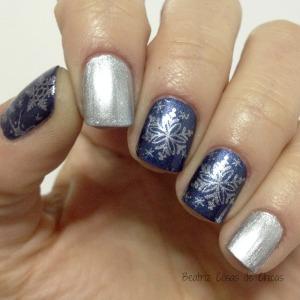 Manicura con Copos de Nieve Cici&Sisi.3