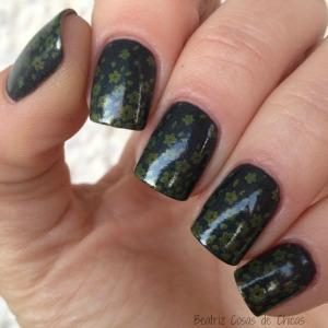 Manicura en Verde de Essence, Yesensy y Curali.1