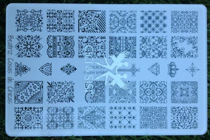 Acrylic Plate Cici&Sisi.3.1
