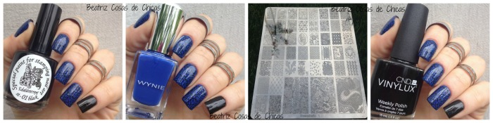 Wynie Azul y Nueva placa Stampholic.5