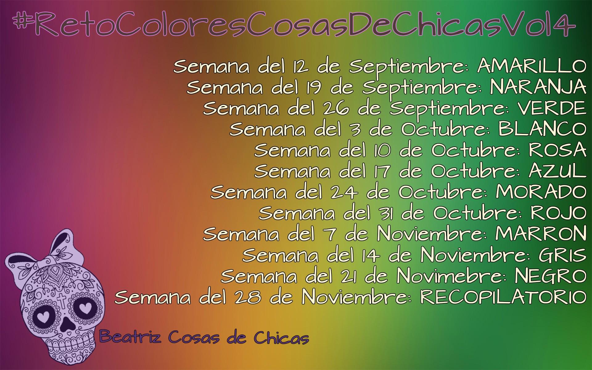 #retocolorescosasdechicasvol4